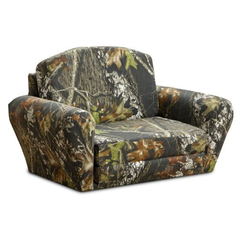 Kidz World Mossy Oak Camouflage Sleepover Sofa