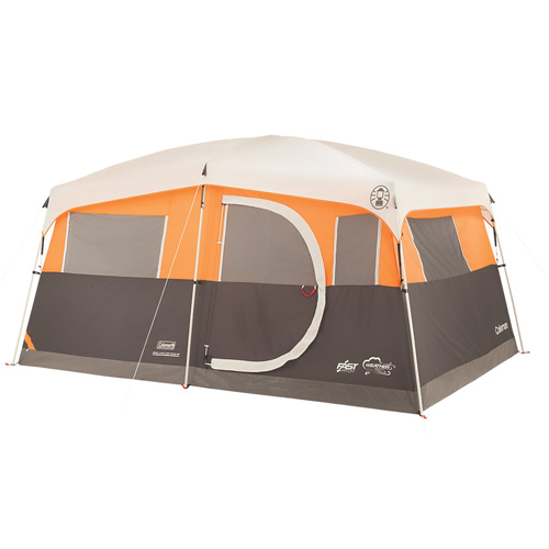 Coleman Signature Jenny Lake Fast Pitch 8-Person Cabin Tent with Closet Tent by COLEMAN
