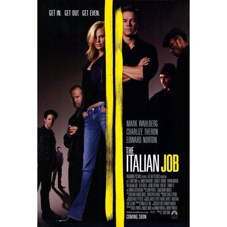 The Italian Job (2003) 11x17 Movie - Movie Trading Company Jobs