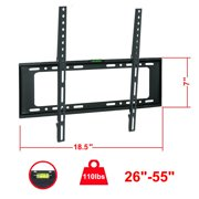 "UBesGoo Flat TV Wall Mount Bracket For 26 27 29 32 36 37 42 46 47 50 55 "" LED LCD PLASMA"