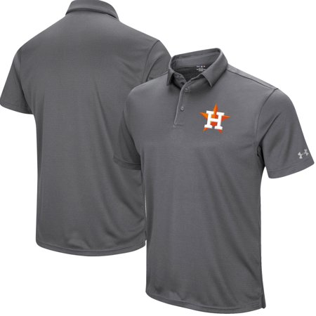 Houston Astros Under Armour Left Chest Performance Polo - Gray - Walmart.com 123228a5b