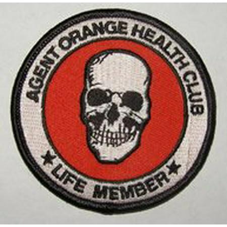 Football Club Patch (Agent Orange Health Club Vietnam Veteran Patch - Veteran Owned Business)