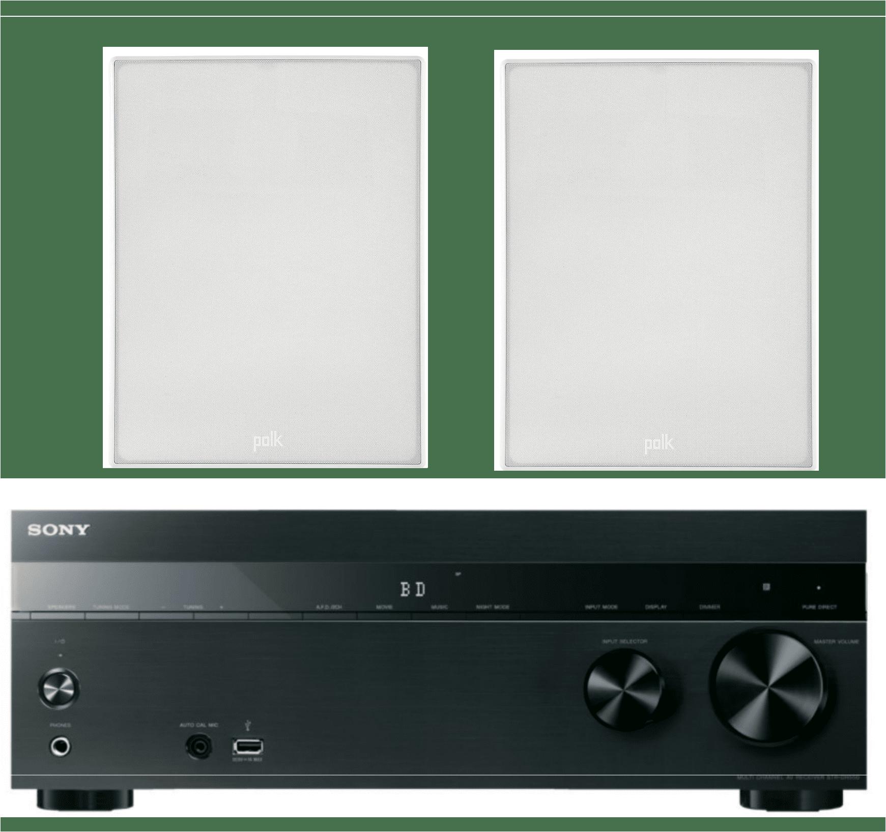 Sony 5.2-Channel 725-Watt 4K A/V Home Theater Receiver + ...