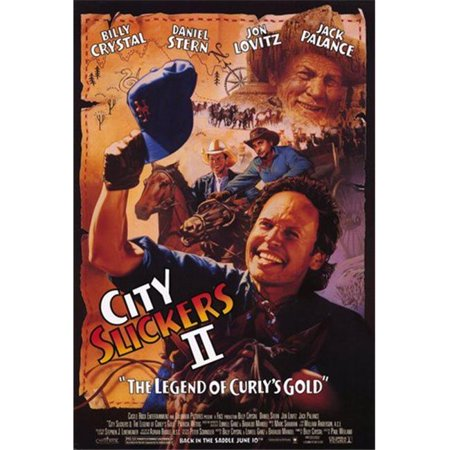 Posterazzi MOV233617 City Slickers 2 the Legend of Curlys G Movie Poster - 11 x 17 (Belair X 6 12 City Slicker Instant Kit)