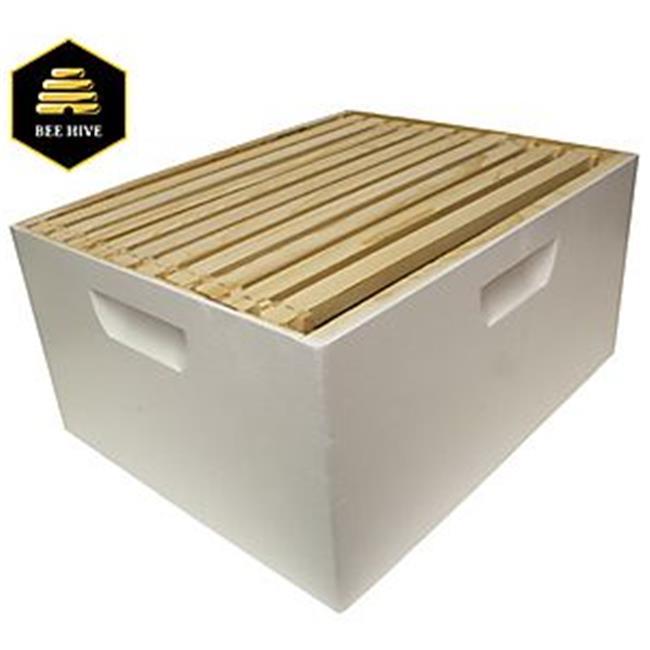 Harvest Lane Honey 7969645 WWBCD-101 Beehive Box Deep Brood with Frame