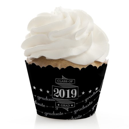 Graduation Cheers - Graduation Party Cupcake Wrappers (set of 12)