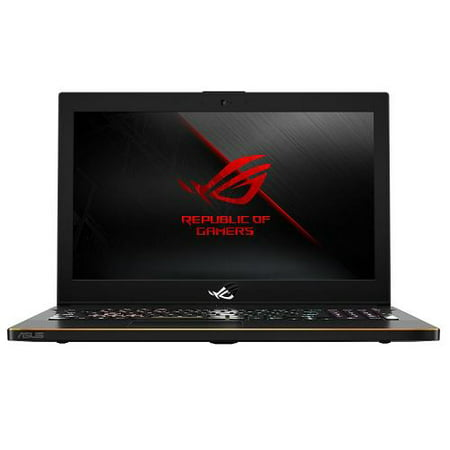 ASUS ROG Zephyrus Gaming Laptop 15.6u0022, Intel Core i7-8750, NVIDIA GeForce GTX 1070 8GB, 256GB SSD + 1TB SSHD Storage, 16GB RAM, GM501GS-XS74
