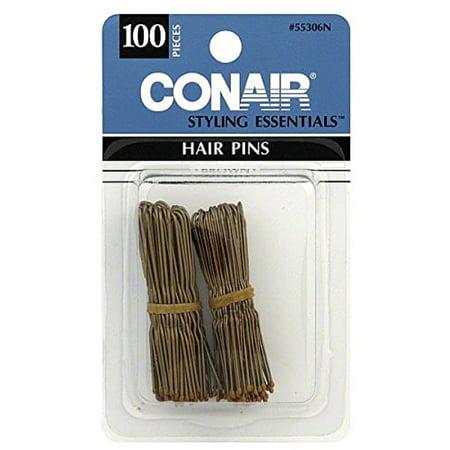 Gemstone Hair Pin - Conair Styling Essentials Hair Pins, Bronze 100 ea