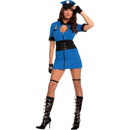 Intriguing Interrogator Women's Adult Halloween Costume](Halloween Store Joplin Mo)