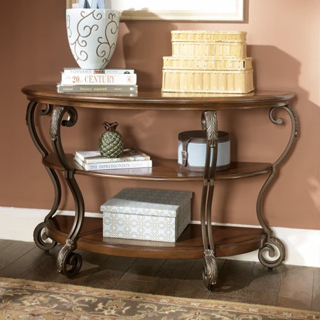 Superb Signature Design By Ashley Nestor Sofa Table Download Free Architecture Designs Scobabritishbridgeorg