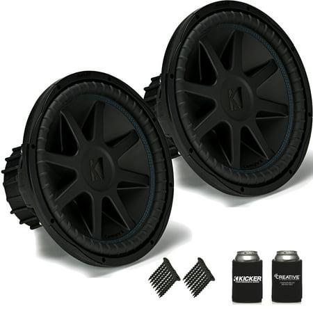 kicker 44cvx154 compvx 15 subwoofers bundle dual 4 ohm. Black Bedroom Furniture Sets. Home Design Ideas