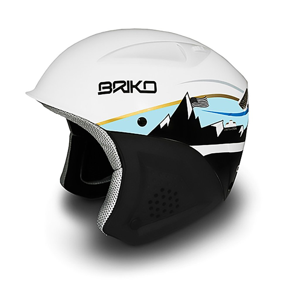Briko Lindsey Vonn Timeline Helmet- Pearl Blue Gold Size: 52CM by SOGEN SPORTS INC.