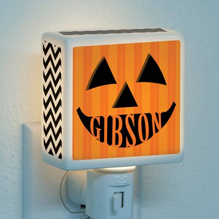 Personalized Jack O Lantern Night Light ()