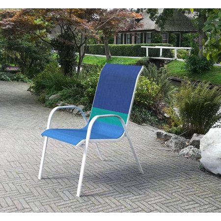 Mainstays Heritage Park Stacking Sling Chair Walmart