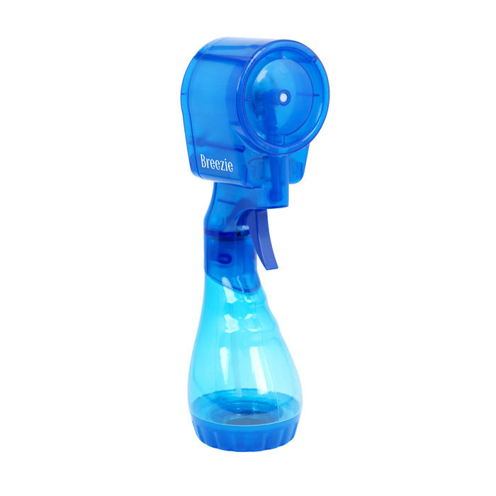 Breezie Battery Operated Portable Bladeless And Soundless Misting Fan With  Water Reservoir And Trigger