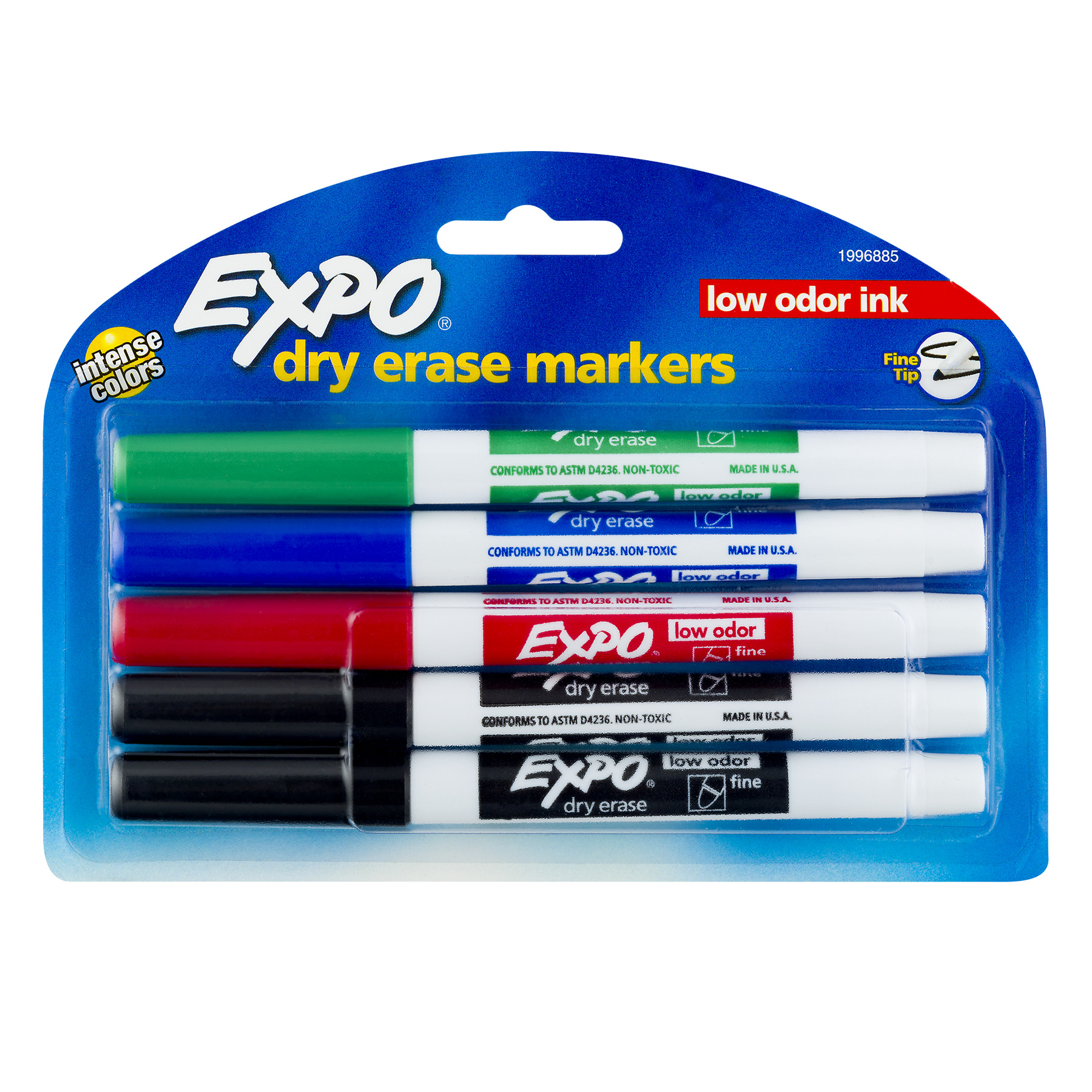 Expo Dry Erase Markers - 5 CT5.0 CT