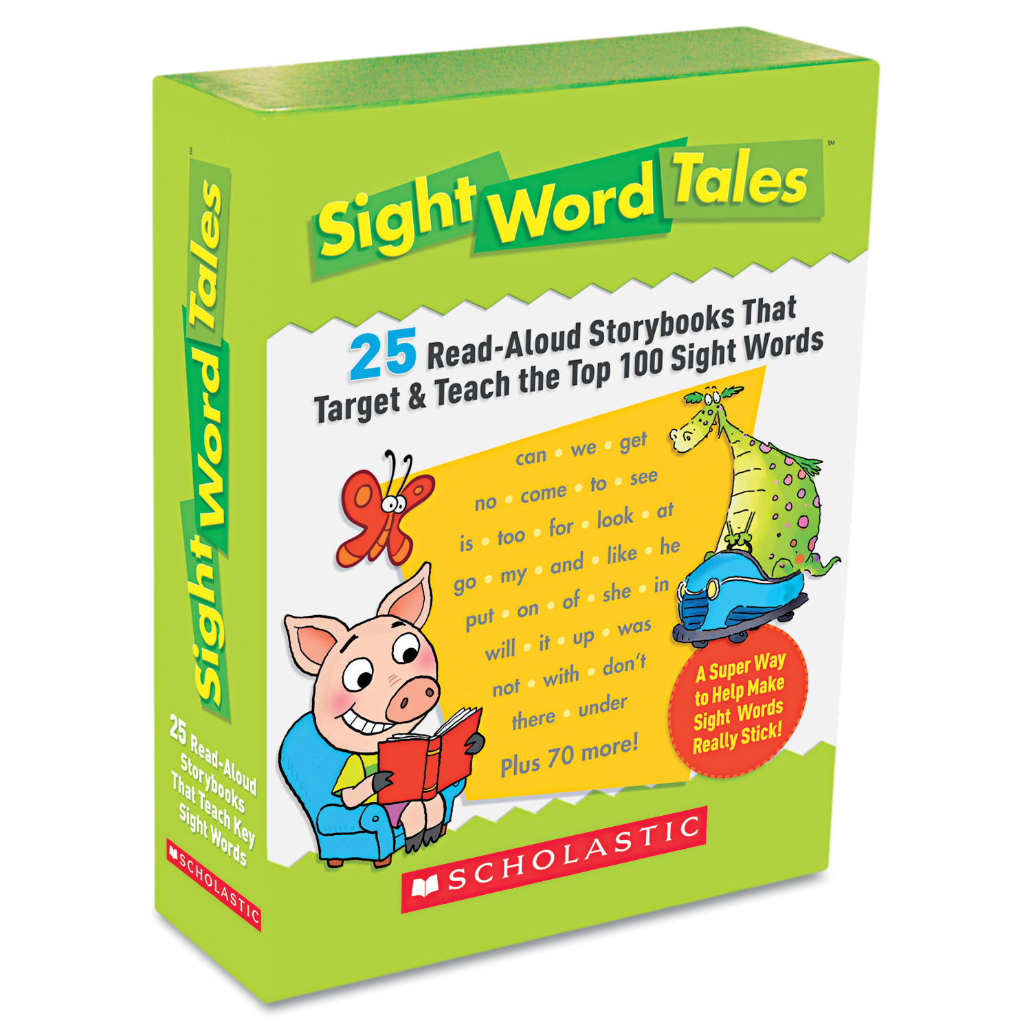 Scholastic Sight Word Tales 25 Books 16 Pages and Teachers Guide
