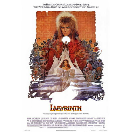 Labyrinth POSTER Movie (27x40) - Labyrinthe Halloween