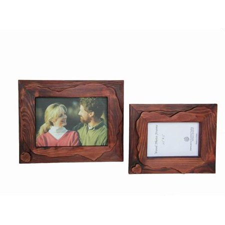 Sunshine Trading ST-13-5 Handmade Wood Photo Frame - 3.5 x 5 Inch - Trading Hands