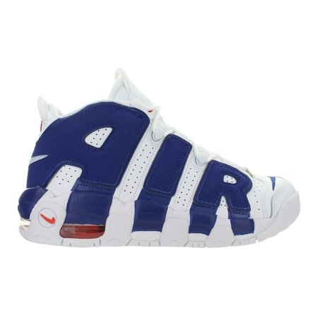 new product be3c8 cbbdf Nike - Kids Nike Air More Uptempo GS Knicks White Deep Royal Blue ...