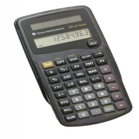 Texas instruments ba-35 scientific calculator | ebay.