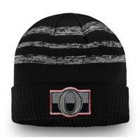 Ottawa Senators Fanatics Branded Authentic Pro Clutch Cuffed Knit Hat - Black - OSFA