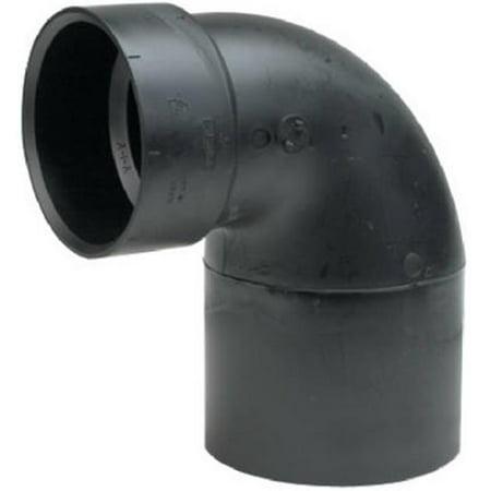 Mueller Industries 53105 ABS & DWV Closet Bend, Hub x Short Spigot - 4 x 3 in - image 1 de 1