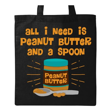 Peanut Butter Spoon Tote Bag