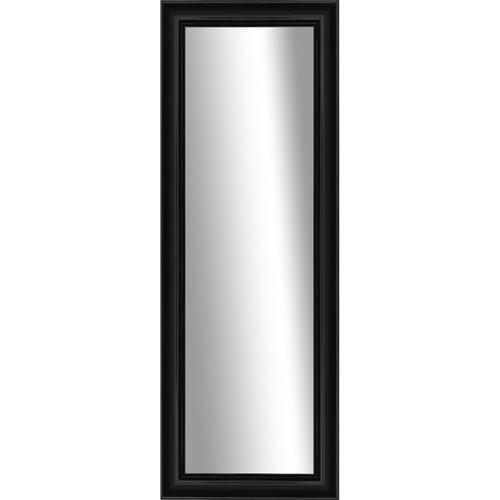 Verona Black Stand Up Mirror by Pro Tour Memorabilia, LLC
