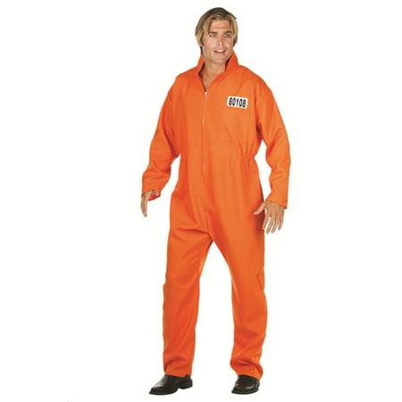Escaped Convict Overall Costume (Insomniac Escape Halloween)