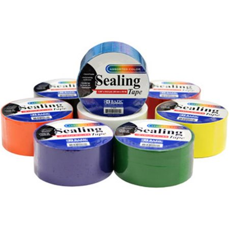 DDI 1945708 Colored Packing Tape Case of 48 - image 1 of 1