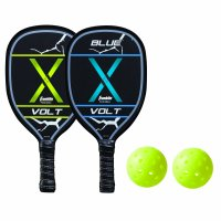 Franklin Sports Pickleball Paddle and Ball Set - 2 Player - USAPA Approved