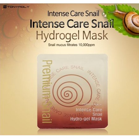3 sheets TONYMOLY Intense Care Snail Hydro Gel Mask 3sheets