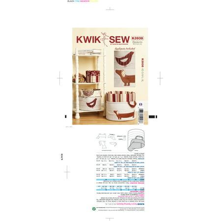 Kwik Sew Pattern Nora's Nesting Baskets, All Sizes ()