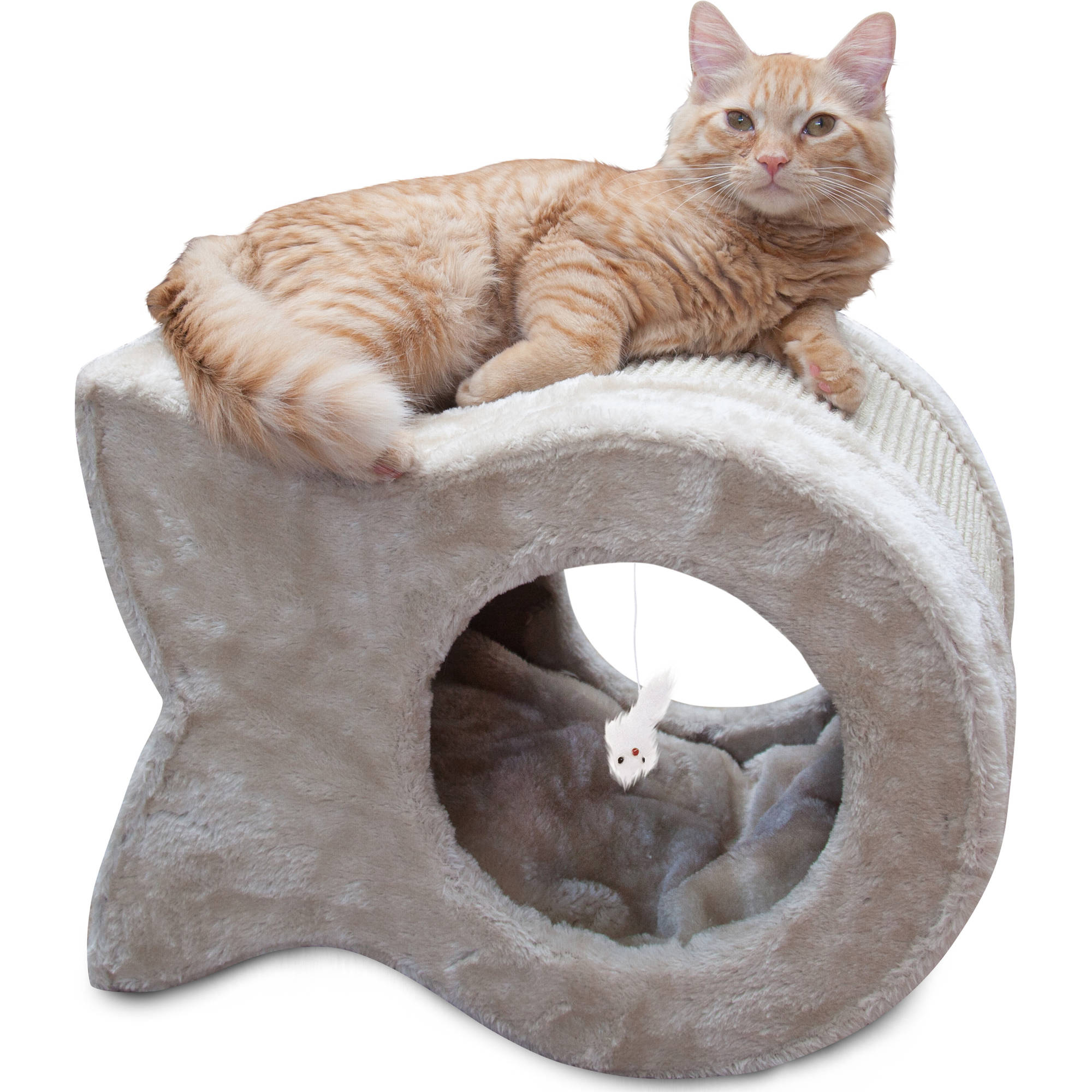 Majestic Pet Kitty Cave Scratcher