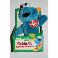 "11"" Giggle Cookie Monster Plush"