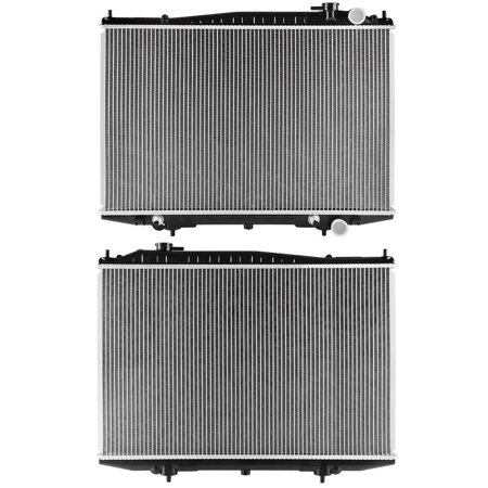 04 Nissan Frontier Radiator - Radiator Assembly for Nissan Frontier Xterra 2.4L 3.3L V6 L4 2215 with Oil Cooler 1998-2004