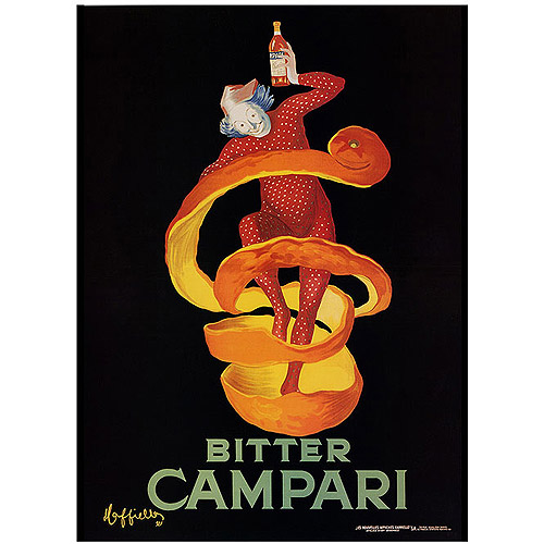 "Trademark Fine Art ""Bitter Campari"" Canvas Art, 14x19"
