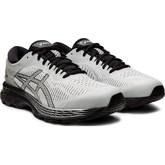 4dc9b97b9cebe ASICS Gel-Kayano 25 Men's Running Shoe, Indigo Blue/White, 9.5 D(M) US