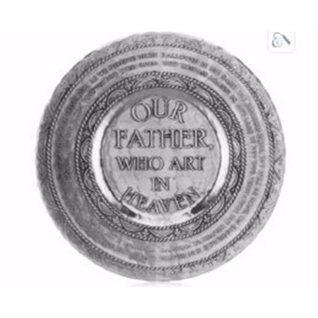 (Wendell August Forge 162198 11 in. Lords Prayer Plate)