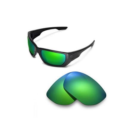 7d43ed722dd Walleva - Walleva Emerald Polarized Replacement Lenses for Oakley Style  Switch Sunglasses - Walmart.com