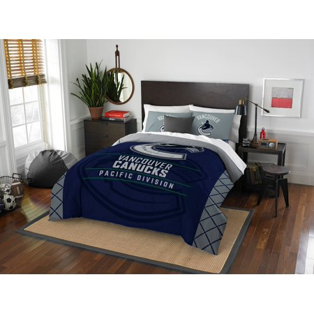 8ce8a0690a4 Vancouver Canucks The Northwest Company NHL Draft Full/Queen Comforter Set  - Walmart.com