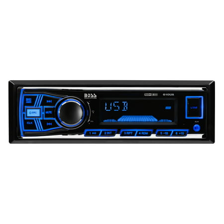 Boss 200Watts Audio System with MP3-Compatible Media AM/FM Receiver