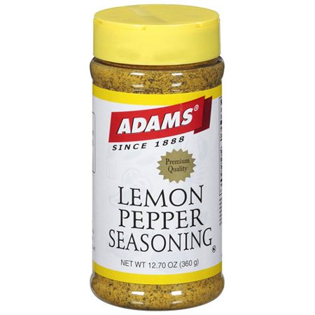 Image of Adams Lemon Pepper Seasoning, 360 G