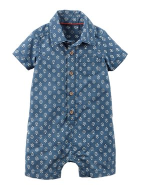 79ad436765cf Carter s Baby Boys Rompers   One-pieces - Walmart.com