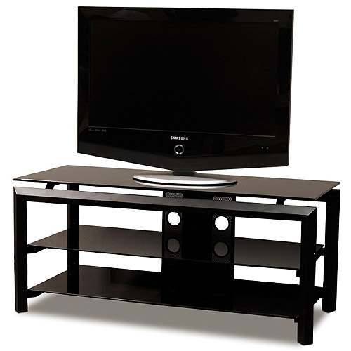 """TechCraft Glass Top TV Stand, for TVs up to 50"""""""