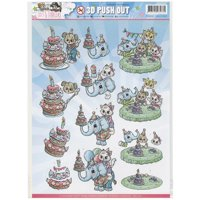 Find It Trading Yvonne Creations Punchout Sheet-Tots & Toddlers