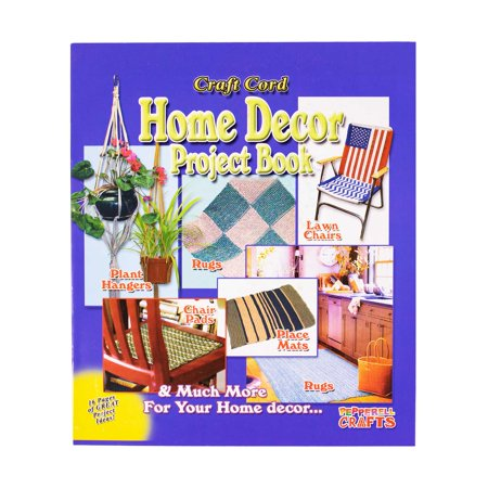 Craft County Home Decor Project Book - Rugs, Plant Hangers, Wall Decorations, and More