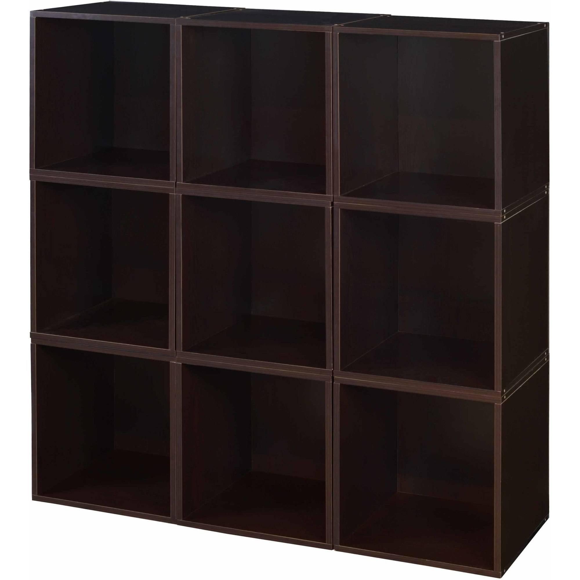 Regency Niche Cubo Storage Set of 9 Cubes- Truffle