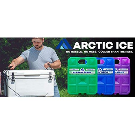 Arctic Ice 1206 Alaskan Series 1 Degree P.C.M. Reusable High Performance Ice, Refrigerated Temperatures 5 Lb Container - image 2 of 4